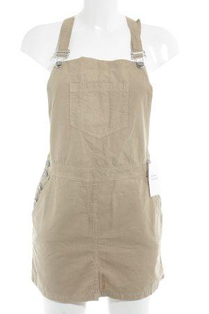 Kurzarmkleid beige Casual-Look