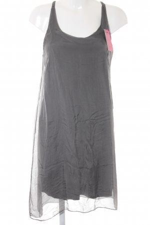 Kurzarmkleid grau Casual-Look