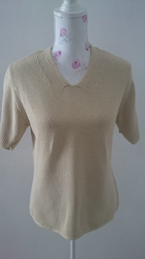 Joy Short Sleeve Knitted Jacket cream