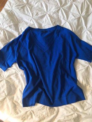 Zero Sweater met korte mouwen neon blauw