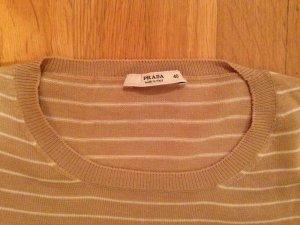 Prada Sweater met korte mouwen veelkleurig
