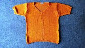 Jersey de manga corta multicolor tejido mezclado