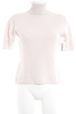Jersey de manga corta rosa empolvado elegante