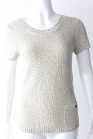 notthesame Short Sleeve Sweater gold-colored viscose