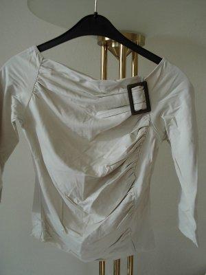 Axara Top épaules dénudées beige clair