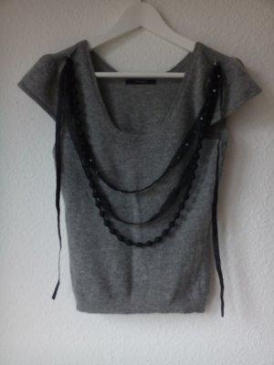 Kurzarmshirt Wolle Chanelstyle