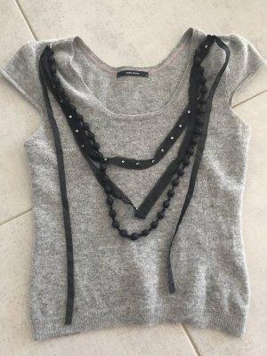 Kurzarmshirt Wolle Chanelstyle M