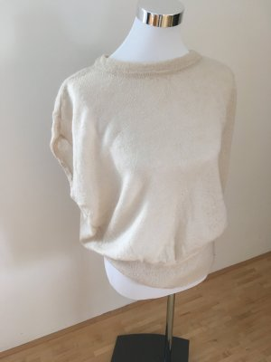 esprit collection Knitted Top natural white mixture fibre
