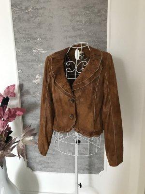 Biba Short Blazer brown