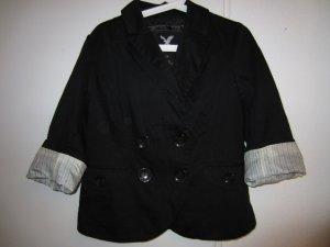 American Eagle Outfitters Blazer corto negro