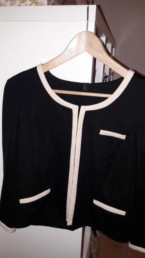 Vero Moda Short Blazer black-oatmeal polyester