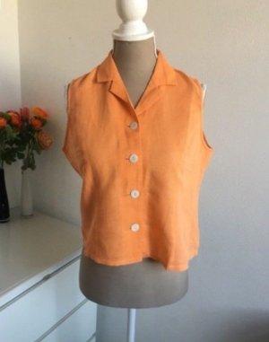 Vintage Linnen blouse veelkleurig
