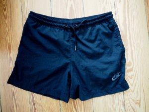 Kurze blaue Nike Sport Shorts Running Shorts Kindergröße