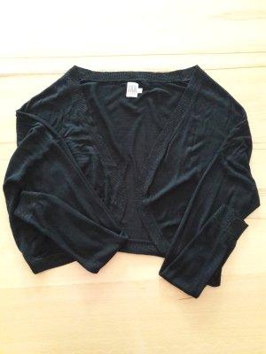 Saint Tropez Boléro en tricot noir