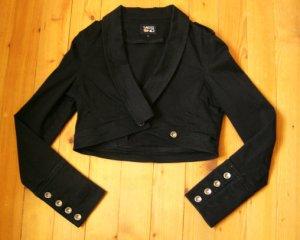 Veste militaire noir coton
