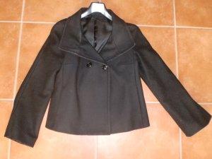 Kurze (Caban) Jacke von benetton schwarz Gr 38