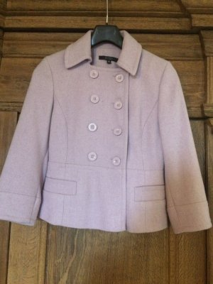 Hallhuber Pea Jacket multicolored wool