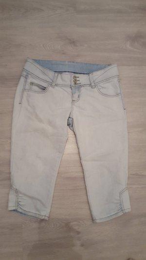 Kurze Capri Jeans Bermudajeans Damen Größe L / 40 Tally Weijl