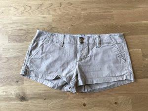 American Eagle Outfitters Hot pants licht beige-room Katoen