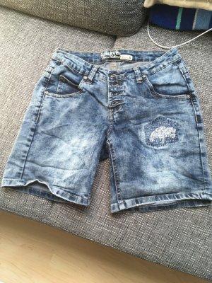 Kurze Damenjeans Shorts