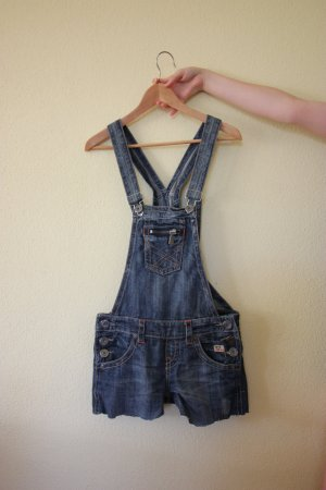 Fishbone Dungarees multicolored cotton