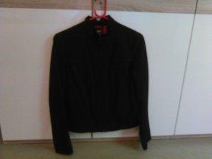 kurze dünne Jacke mit Reißverschluss