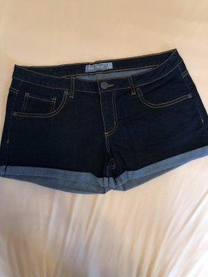Amisu Denim Shorts blue-dark blue