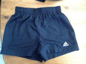 Kurze dunkelblaue Sporthose Adidas