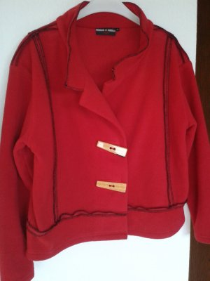 Fleece Jackets red polyester