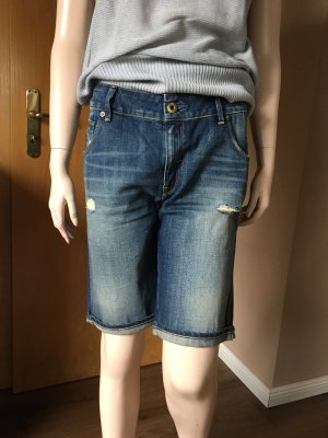 G-Star Raw Short en jean bleu