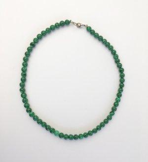 Kurze Grüne Perlenkette