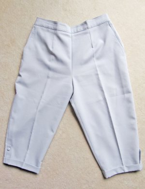 High-Waist-Shorts silver-colored-light grey
