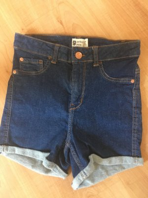 kurze high Waist Jeans Hot Spants
