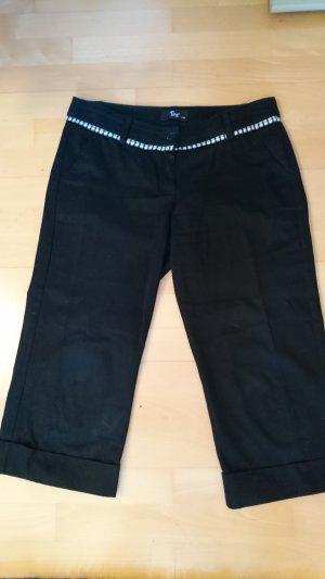Tita High-Waist-Shorts black cotton