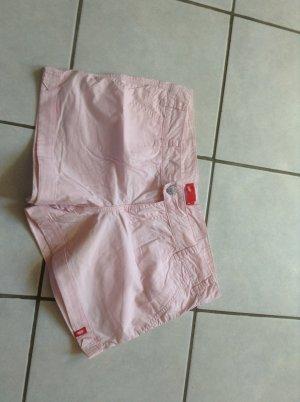 Edc Esprit Short moulant rose coton