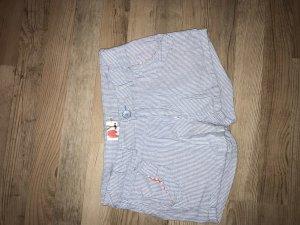 Denim Shorts white-azure