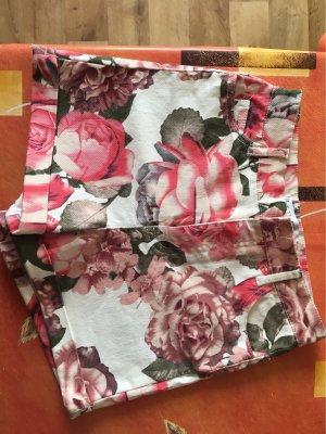Amisu Pantalón de cintura alta multicolor
