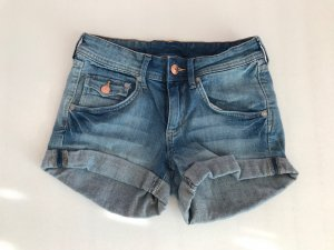 Denim Co. Short en jean bleuet