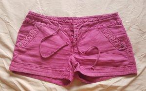 Clockhouse Hot pants rosa-fucsia neon