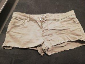 kurze Hose, Beige, Größe 40