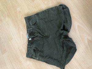 Bershka Hoge taille broek veelkleurig
