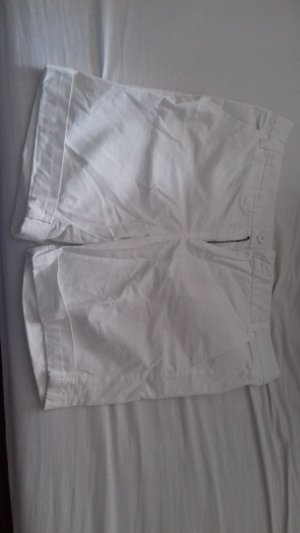 Amisu Pantalon court blanc