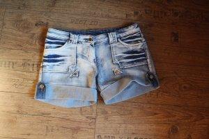 Pantalone a vita bassa blu