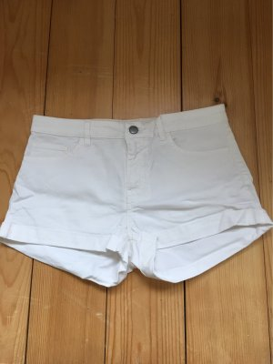 H&M Short moulant blanc