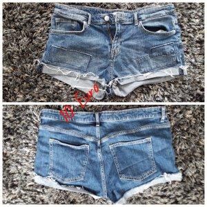 Pantaloncino di jeans blu