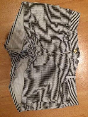 H&M Short moulant blanc-noir