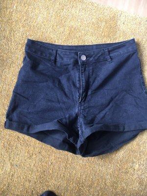 H&M Divided Short en jean gris anthracite