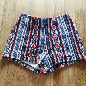 Kurze Hose hotpants hollister neu atzec Muster