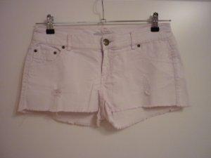 Pantalón corto rosa claro