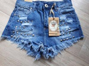 Kurze Hose Jeans